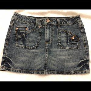 🌺3 for $20🌺 Arizona denim jean mini skirt